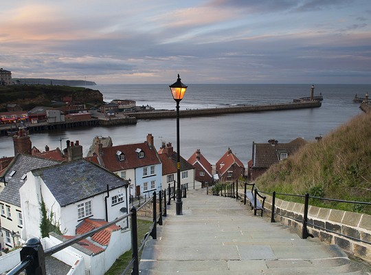 199 Steps and Whitby Harbour